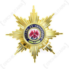 Grand Cross Order of the Red Eagle with Swords Breast Star Badge Award Repro New
