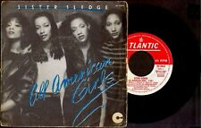 "SISTER SLEDGE - All American Girls / Happy Feeling - SPAIN SG 7"" Atlantic 1981"