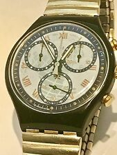 SWATCH -CHRONOGRAPH TIMELESS ZONE-JAHR 1991-GETRAGENER ZUSTAND /NEU BATTERIE-