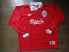 Liverpool 100% Original Jersey Shirt 1997/98 Home LS 46/48 Still BNWT NEW Rare