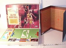 IDEAL NBA ALL PRO BASKETBALL BOARD GAME 1960s BOXED COMPLETE