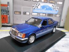 Mercedes Benz E Classe w124 Berline 230e 1991 Blue Bleu MINICHAMPS SP 1:43