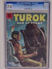 TUROK SON OF STONE COMIC #4 CGC 7.5 1956