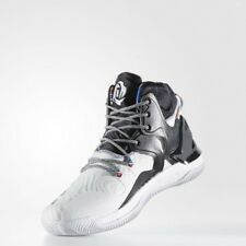 875fb85cc5ca Adidas D Rose 7 Black History Month White Black BY3475 Size 13.5