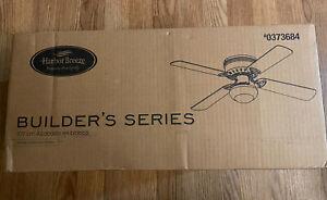 "NEW HARBOR BREEZE Builders Series 42"" White Finish Ceiling Fan #0373684"