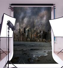 City in War 5x7ft Wall Background Vinyl Photography Backdrop Studio Photo Props