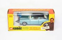 Corgi 313 Ford Cortina GXL Graham Hill In Its Original Box - Near Mint Vintage