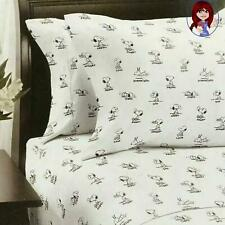 Berkshire Peanuts Snoopy Emotions Themed Queen Size Sheet Set BRAND NEW!