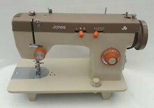 JONES Semi Industrial Sewing Machine + Heavy Duty Motor, in Superb Condition