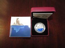 Canada 2016 $20 Fine Silver coin Iconic Canada The Polar Bear - 4K Mintage!