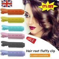 5Pcs Volumizing Hair Root Clip Curler Roller Wave Fluffy Clip Tool Top U5T9