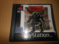 epidemic. Playstation 1 comme neuf Collectors version PAL