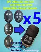 5x BFT Mitto 2M 4M 12V D111751 D111750 Compatible Garage/Gate Remote