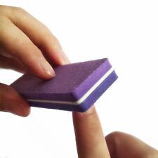 10pcs Professional Mini Nail File Block Buffer Sanding Salon Nail Art Tool-