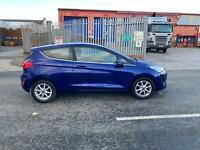 2018 Ford Fiesta Zetec 1.0, only 23K mls, driveaway, light damaged salvage