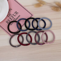 GN- Fashion Women's Solid Color Elastic Hair Rope Ring Girl Ponytail Holder Show