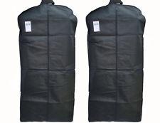 """(2 Pack) 48"""" Travel Garment Bag Bags Suit Jackets Clothes Dresses Tux-Foldable"""