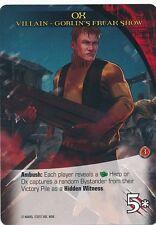 OX Upper Deck Marvel Legendary NOIR SP VILLAIN GOBLIN'S FREAK SHOW
