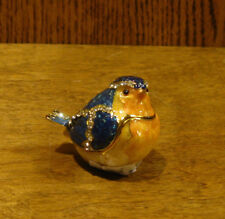 Jeweled Trinket Box J947 BIRD, NEWBox From Retail Store, from Welforth 1.75""