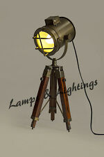 Handmade Nautical Old Hollywood Classic Movies Design Tripod Desk/Table Lamp