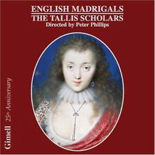 The Tallis Scholars - English Madrigals [New CD]