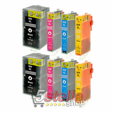 KIT 8 CARTUCCE HP 920 XL OFFICEJET 6500A PLUS 7000 7000 7500A WIDE FORMAT REMA