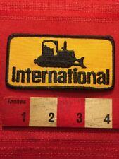 Vtg Heavy Construction Machinery INTERNATIONAL BULLDOZER Patch 00YH