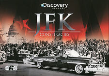 JFK CONSPIRACIES - 6 DVD BOX SET - DID THE MOB KILL JFK? AND MORE
