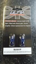 Ultra 501 (T10/W5W) 12v Capless Sidelight Power Bulbs