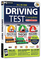 2017 All in One Driving Test Complete Hazard Theory +Practical DVD CD LATEST EDT