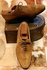 Church's 'Belfast' Brogue Tan Suede Mens Shoes - UK 11F