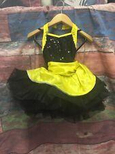 NEW Black And Yellow Dance Costume Tutu