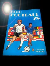 PANINI EURO FOOTBALL 78 STICKER ALBUM 1978 EUROFOOTBALL SET 74 80 82 86 90 92
