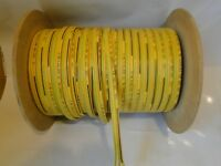 CUT TO LENGTH 14-2 FLAT YELLOW SUBMERSIBLE PUMP CABLE WIRE 600V COPPER KALAS