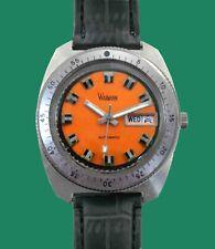 Vintage 1960's WAKMANN Divers men's Automatic Day/Date Watch