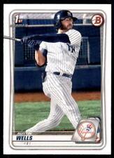 2020 Bowman Draft Base Paper #Bd-56 Austin Wells - New York Yankees