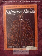 Saturday Review December 22 1956 JOHN WELLS DAVIDSON LEO CHERNE LORD DUNSANY