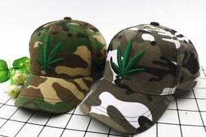 WEED Boy Girl Adjustable Baseball Cap Kids Snapback Children SCHOOL HIP HOP Hat