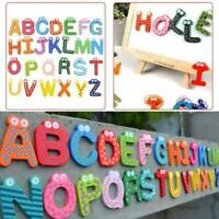 Wood Cute Fridge Magnet Alphabet Animal Number Early Toy Educational New Ki B1D4
