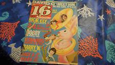 David Cassidy Covers 16 Magazine January 1971 Rick Ely Osmonds
