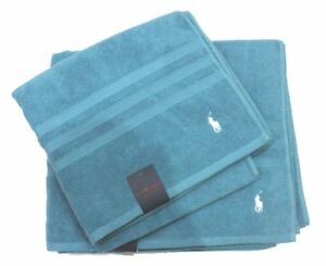 Polo Ralph Lauren Bath Sheet Towel Set Turquoise One Size TV22
