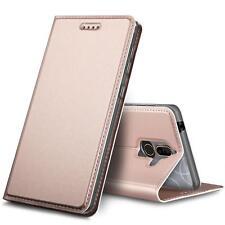 Cover Nokia 7 Plus Mobile Phone Protective Case Flip Case+9H Glass Foil Foil