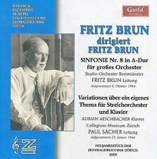 Fritz Brun Conducts Fritz Brun, New Music