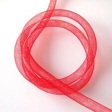 Calza Tubolare in rete plastica Rossa - 8 mm x 1 metro