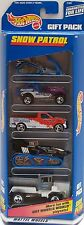 HOT WHEELS 1998 GIFT PACK SNOW PATROL SEARCH & RESCUE SKI PATROL  5 CAR PACK