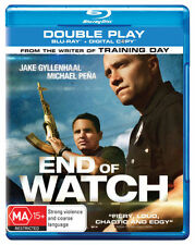 End Of Watch (Blu-ray, 2013, 2-Disc Set)