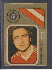 FKS - Soccer Stars 78/79 Golden Collection - # 234 M O'Neill - Nottingham Forest