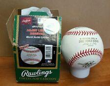 Rawlings 2002 World Series Official Game Baseball - Anaheim Angels