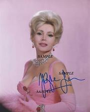 ZSA ZSA GABOR #1 REPRINT AUTOGRAPHED SIGNED PICTURE 8X10 PHOTO COLLECTIBLE RP