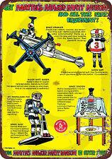 1967 Major Matt Mason in Space Vintage Look Reproduction Metal Sign 8 x 12